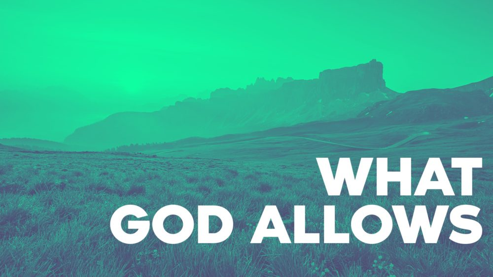 What God Allows